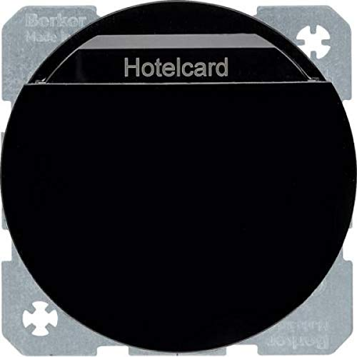 Hager - Tarjetero hotel electronico rx negro