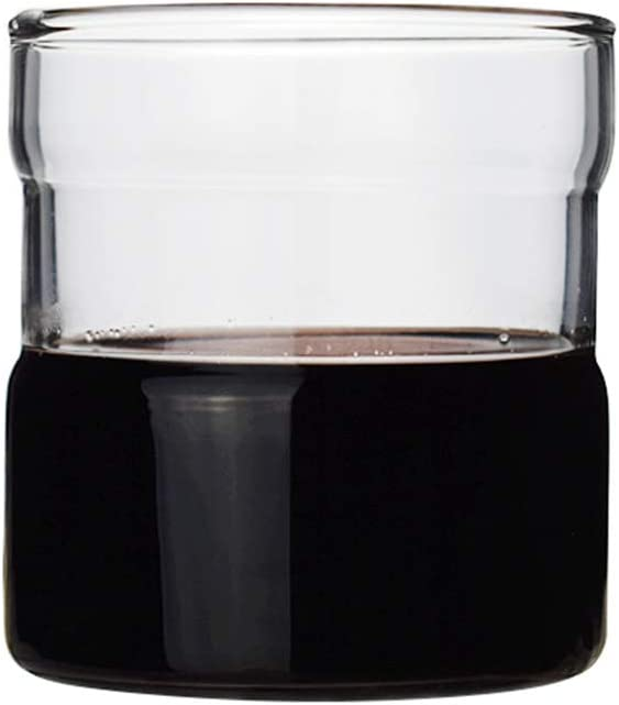 DOITOOL Creative 5 ☆ popular Glass Cup Cola Drinking Practic excellence Transparent