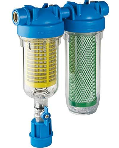 """HYDRA RAINMASTER DUO RLH CB/EC 1"""" Brunnenwasserfilter Hauswasserfilter Sand"""