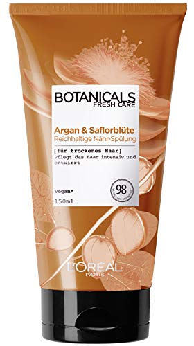 L'Oréal Paris Botanicals Fresh Care Argan Und Saflorblüte Nähr-Spülung, 1er Pack(1 x 150 ml)