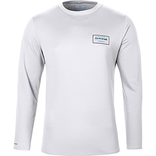 2018 Dakine Inlet Loose Fit Long Sleeve Top White 10001658 Sizes- - Large