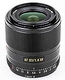 Auto-Focus Prime Lens VILTROX AF 23mm F1.4 XF STM Full Frame Portrait Lens for Fujifilm X-Mount Camera X-T1/2/3/10/20/30/100/200 X-A1/2/3/5/7/10/20 X-E1/2/2S/3 X-PRO1/2 X-H1 X-M1