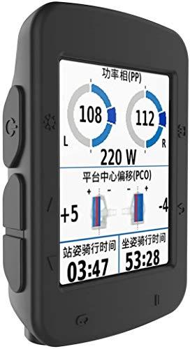 Funda compatible con Garmin Edge 520 Plus – Funda protectora de silicona – Accesorios de ordenador para bicicleta GPS (Negro)