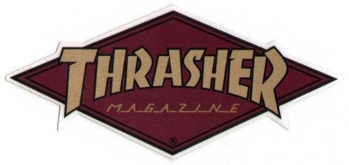 Skateboard-Aufkleber des Magazins Thrasher, Skateboard, Skateboarding, Skate, Skateboard, Punk