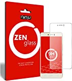 ZenGlass (2 Stück Flexible Glas-Folie kompatibel mit BQ Aquaris U Plus Panzerfolie I Bildschirm-Schutzfolie 9H