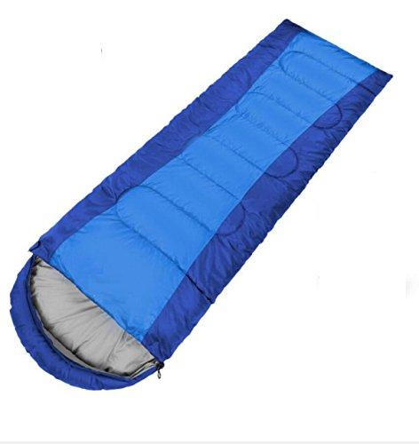 ZHANGHAOBO Sacs De Couchage Adultes Outdoor Camping Modèles Ultra-Minces Printemps Et été Sacs De Couchage en Coton,A2