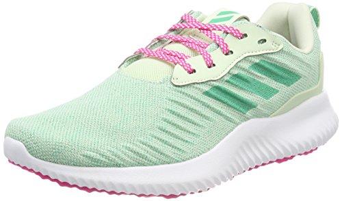 Adidas Alphabounce RC xj, Zapatillas de Deporte Unisex Adulto, Verde (Aerver/Vealre/Rosimp 000), 38 2/3 EU