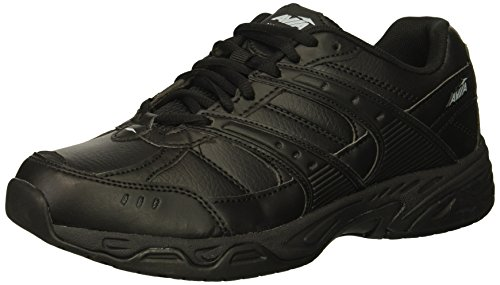 Avia Women's Avi-Union II Food Service Shoe, Black/Castle Rock, 6 Wide US