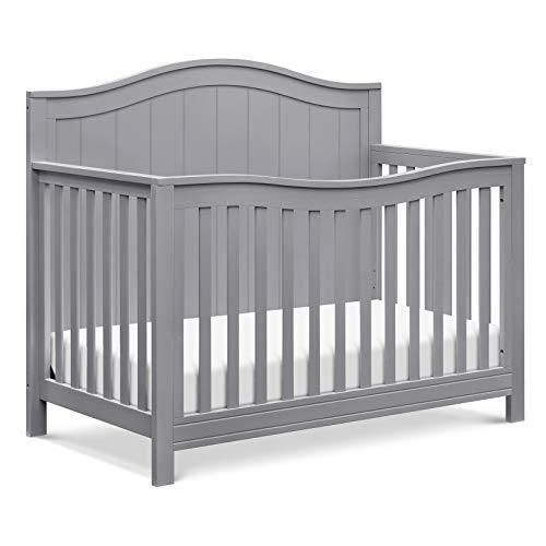 DaVinci Aspen 4-in-1 Convertible Crib in Grey, Greenguard Gold Certified