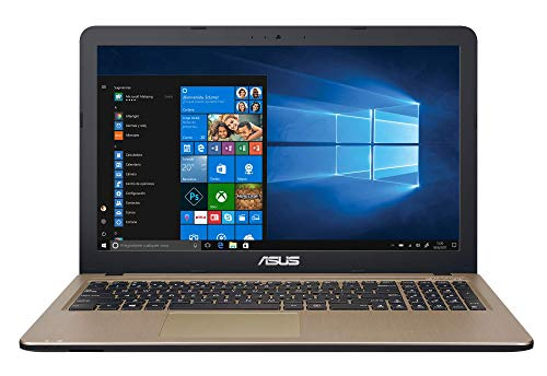 ASUS X540UB-GQ491T - Ordenador portátil de 15.6'HD (Intel Core i5-8250U, 8GB RAM, 1TB HDD, Nvidia MX110 de 2GB, Windows 10 Home) Negro Chocolate - Teclado QWERTY Español