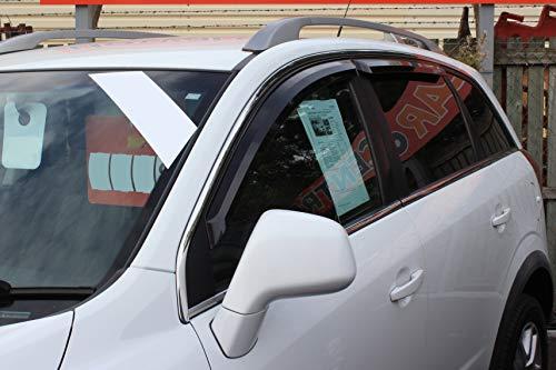Autoclover – Opel Antara 2007 + Windabweiser Set (4 Stück) (Rauch)