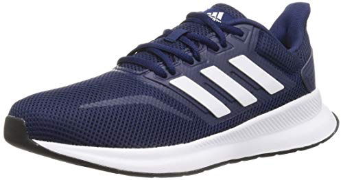 adidas Men's Runfalcon Sneakers, Blue Dark Blue Footwear White Core Black 0, 6 UK