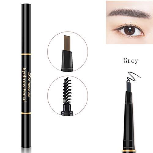 Crayon à sourcils tatouage longue durée teinte crème crayon à sourcils avec brosse (#5 Grey)