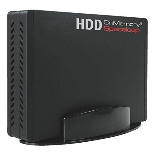 CnMemory Festplatte extern 3,5 USB 2.0 SPACELOOP (schwarz, 1000 GB)