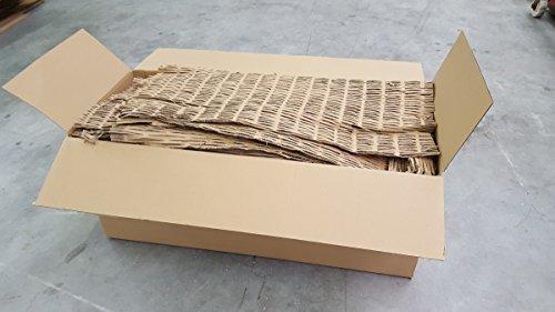194 Liter Füllmaterial Papp-Schredder Verpackungsmaterial Karton Kartonagen Polster (0,07€/1 Liter)