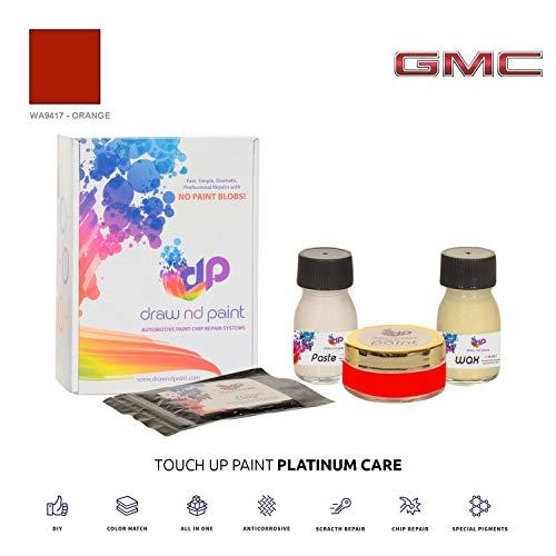 DrawndPaint for/GMC Jimmy/Orange - WA9417 / Sistema di Vernice da RITOCCO - Corrispondenza ESATTA/Platinum Care