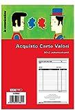 EDIPRO - E5784A - Blocco ricevuta acquisto valori bollati 50x2 autoricalcante f.to 29,7x21