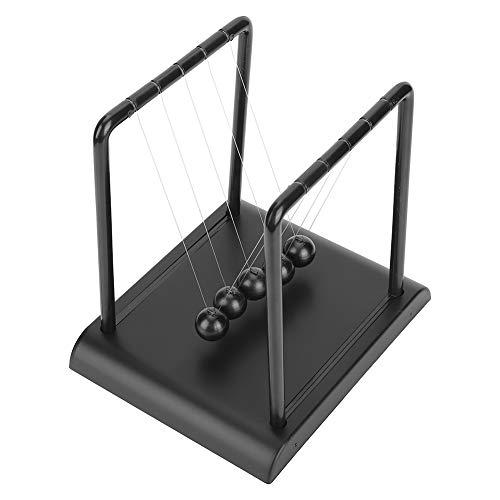 Fdit Classic Newton's Cradle Balance Bolas de Acero Física Ciencia Balance Bolas...