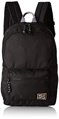 O NEILL Bm Coastline Backpack  mochila  Negro  Black Out   20x46x46 cm  W