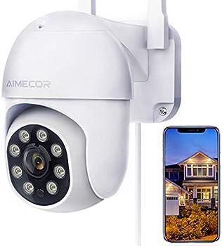 Aimecor B1-New FHD 1080P Pan/Tilt 2.4G WiFi Home Surveillance Camera