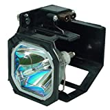 CTLAMP 915P028010 Professional Replacement TV Lamp with Housing 915P028010 Compatible with Mitsubishi WD-52526 WD-52527 WD-52528 WD-62526 WD-62527 WD-62528 with Long Life and Great Brightness