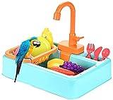 AULLY PARK Bañera automática de pájaro para pájaros, para mascotas, piscina con grifo, jaula para pájaros, juguete de baño, recipiente para alimentos, accesorio para loros