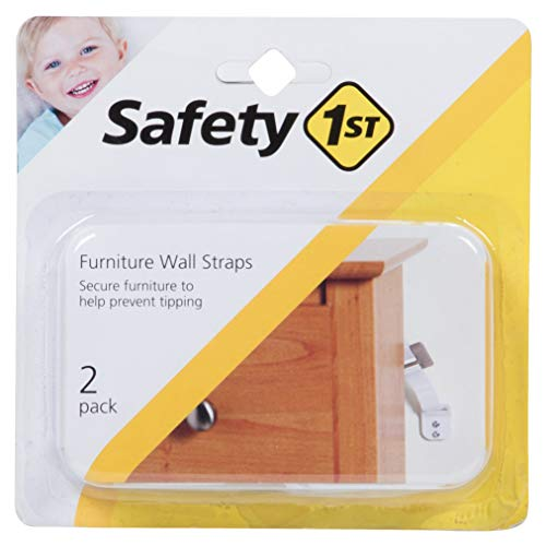 Safety 1st Furniture Wall Straps (6 pack)
