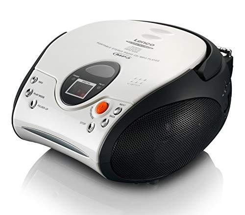 Lenco SCD24 - CD-Player für Kinder - CD-Radio -...