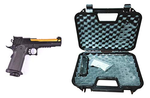 GOLDEN EAGLE Pistola Gas Full Metal con maletín