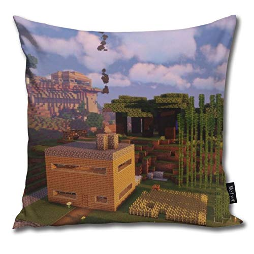 Pants Hats Mi-Necraft 22 Pattern Pillow-Home Decor Pillow Cover Bedroom Decorative Cushion Case For Living Sofas Square Pillow