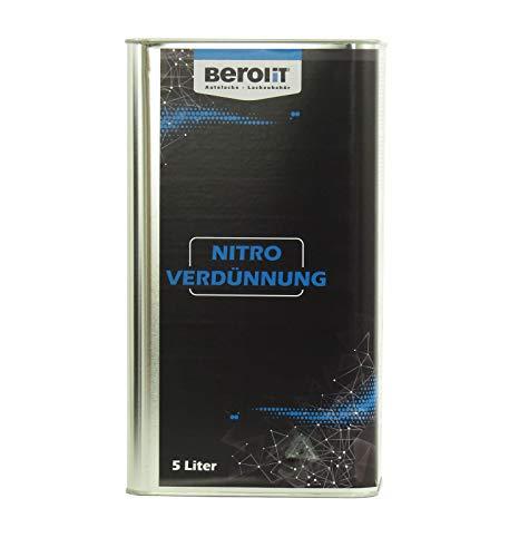 BEROLIT 5 L Nitroverdünnung Nitrowaschverdünnung Nitro Waschverdünnung Liter