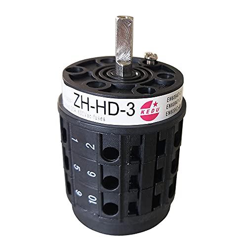 ZH-HD-3 KEDU Interruttore Integrato Interruttori Universali Interruttore Avanti e Indietro 7.5HP 440V