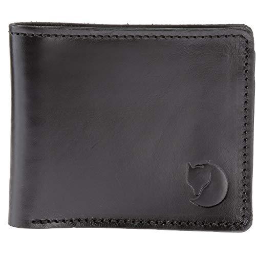 Fjällräven Övik Wallet portemonnee, 15 cm, zwart
