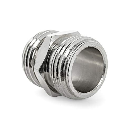 Camco TastePURE Drinking Coupling-Converts Standard Garden Fitting Into Male to Connect to Another Female Water Hose (22705)