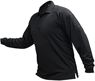 Vertx Men's Cold Long Sleeve Polo Shirt