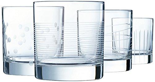 ECLAT L7605 Coffret de 4 verres à eau 36 cl - ILLUMINATION - LUMINARC Cristallin, Transparent