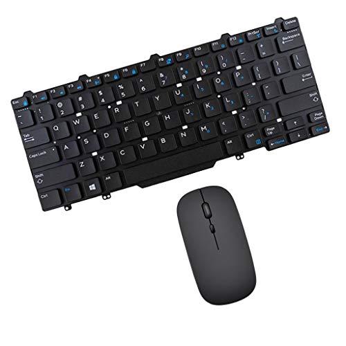 Generic per Latitude 3340 E3340 Tastiera Inglese USA + Carica