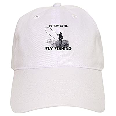 CafePress Fly Fishing - Baseball Cap With Adjustable Closure, Unique Printed Baseball Hat by CafePress