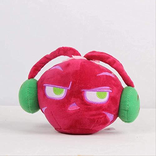 DINGX PVZ Pflanze rote magische Sound sellerie Spielzeug 20 cm weiche gefüllte Puppe für Kinder Kinder Geschenke chongxiang Pflanzen vs Zombies plüsch Spielzeug Chuangze