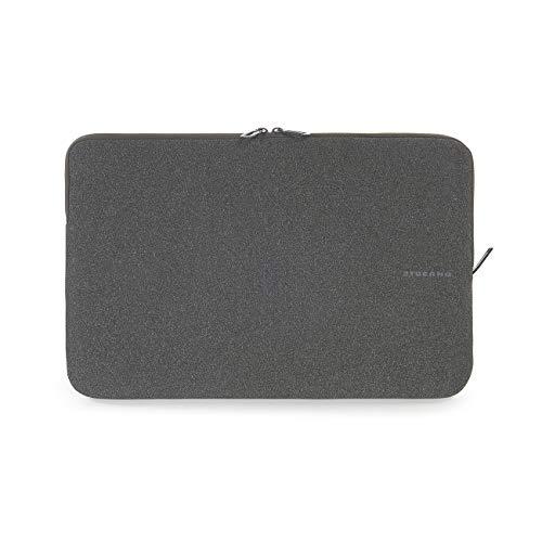 Tucano BFM1718 BK Second Skin Melange Neopren Notebook Sleeve 4318 4572 cm 17 18 Zoll schwarz