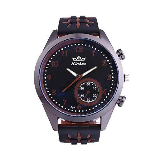 Binär Matrix LED Digital Wasserdichte Uhr Mens Classic Kreative überzogen Armbanduhren 5610EIN 1710