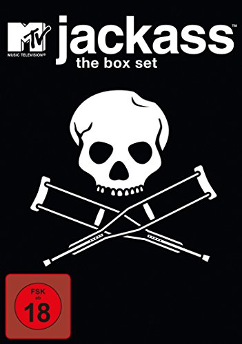 Jackass - Volume 1-3 Box Set [4 DVDs]
