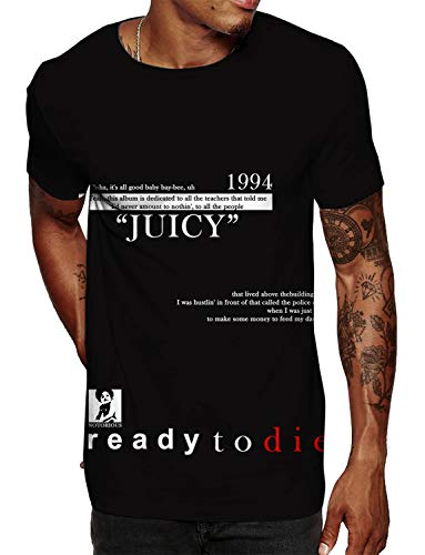 Swag Point Hip Hop T-Shirt -Biggie Graphic, Streetwear (S, 1994)