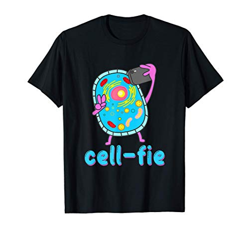 Chemistry Lover Cells At Work Selfie Drone Science Projects T-Shirt