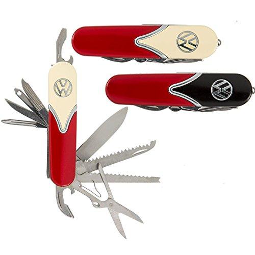 Bada Bing 2er Set Taschenmesser VW Style Multifunktionswerkzeug Retro Stil Metall Taschen Messer 54