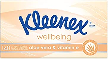 Kleenex Aloe Vera & Vitamin E Facial Tissues 95 Sheets