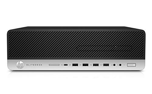 HP EliteDesk 800 G3 Small Form Factor PC, Intel Core Quad i5 6500 up to 3.6 GHz, 32GB DDR4, 2TB+256GB SSD, WiFi, VGA, DP, Win 10 Pro 64-Multi-Language Support English/Spanish/French(Renewed)