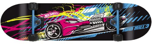 Hot Wheels Kinder Skateboard Twin Mill, 79x20 cm