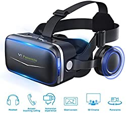 Cool gadgets - a Review of the Coolest Gadgets you can buy - Pansonite 3D VR Headset Virtual Reality Glasses