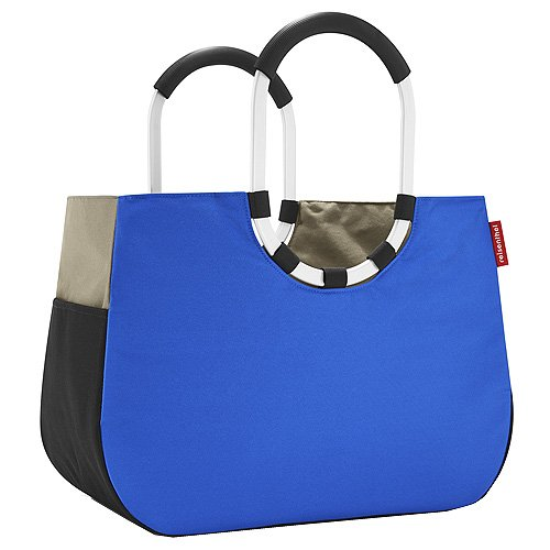 Reisenthel Loopshopper L Sporttasche, Patchwork Royal Blue